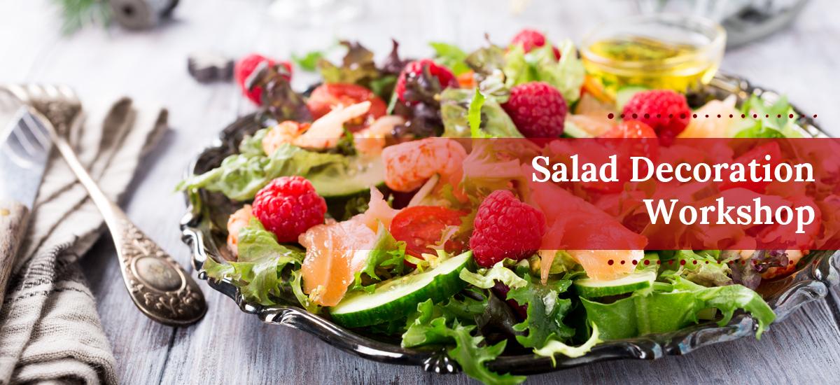 Salad Decoration Workshop Mt Culture Club Kolhapur