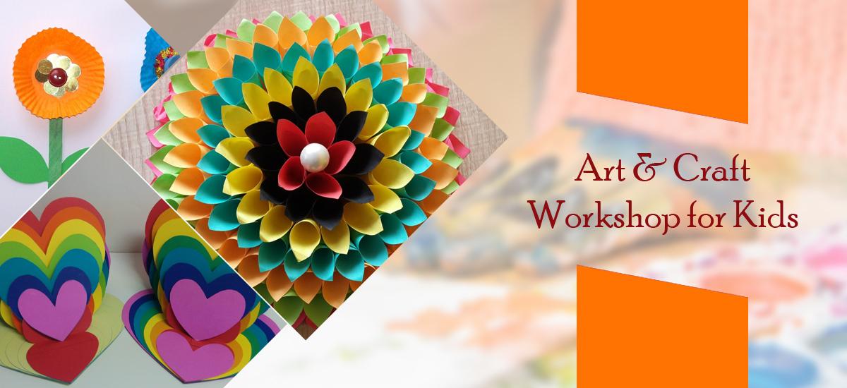 Art Craft Workshop For Kids Mt Culture Club Kolhapur